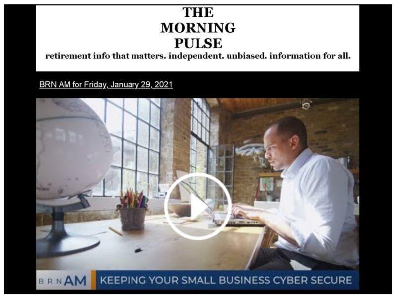 The Morning Pulse – Friday, January 29, 2021