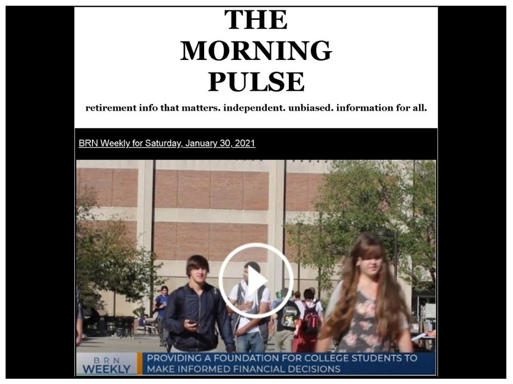 The Morning Pulse – Saturday, January 30, 2021