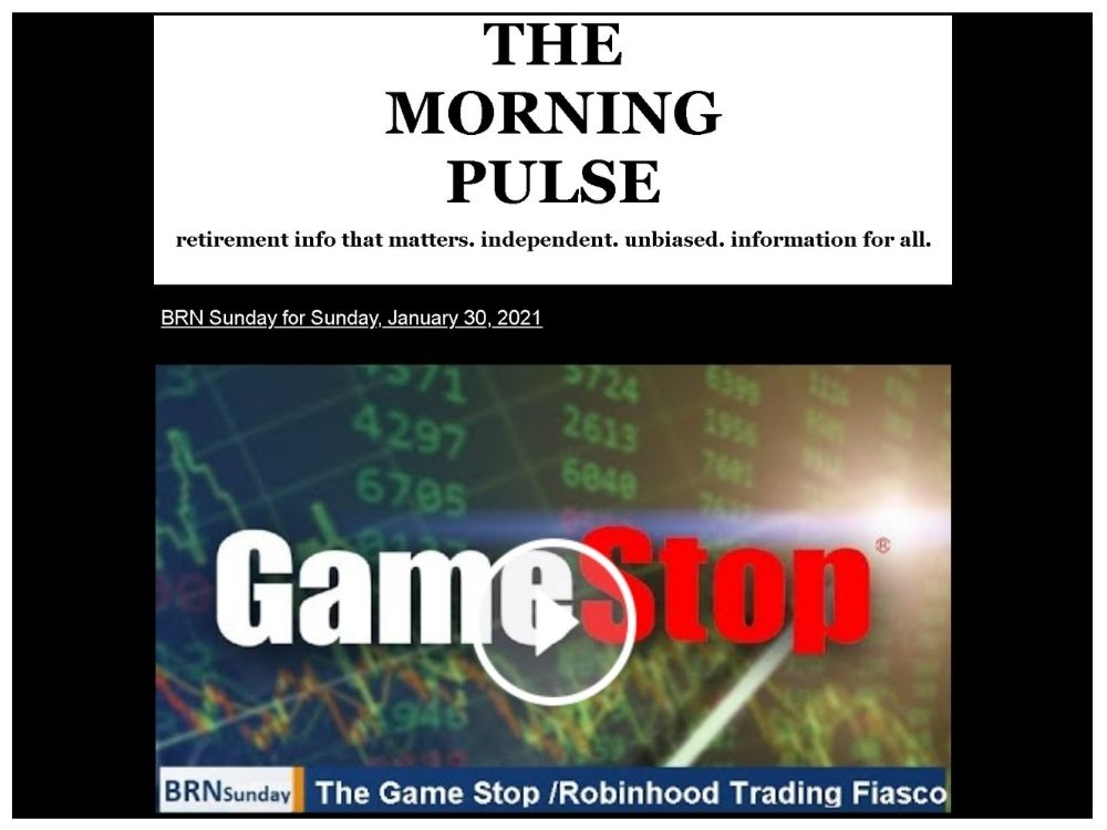 The Morning Pulse – Sunday, January 31, 2021