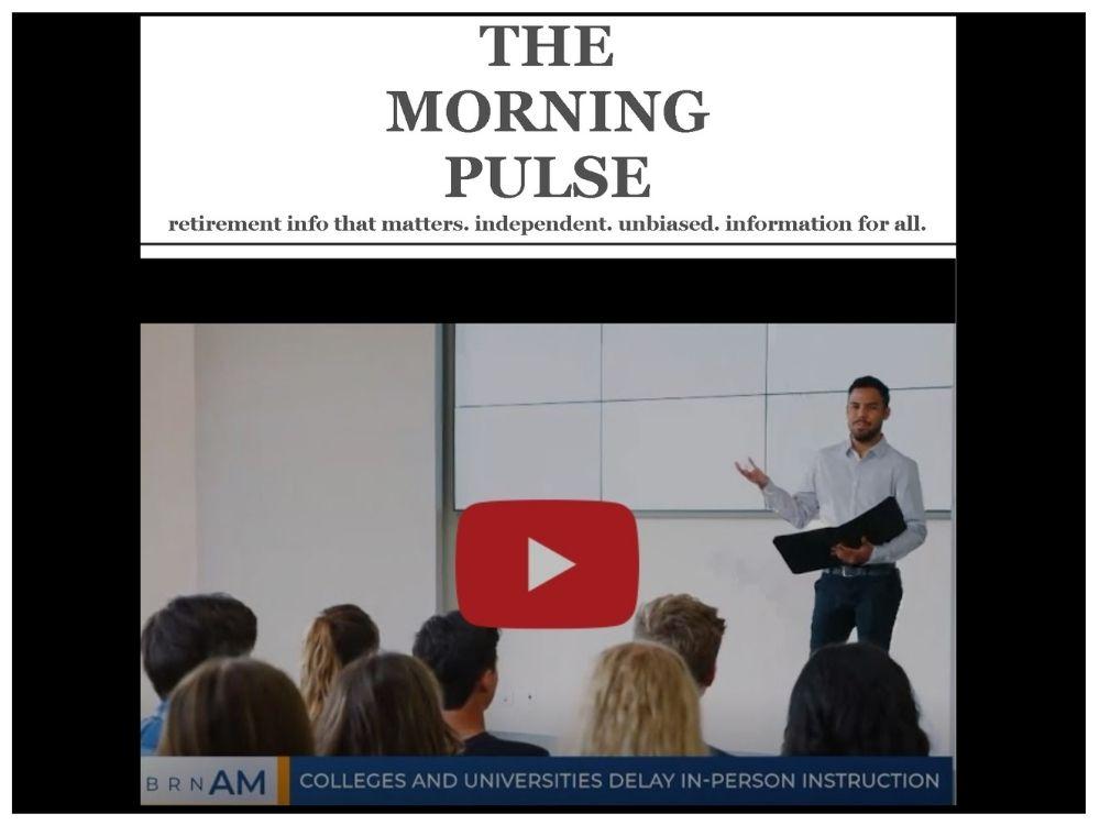 The Morning Pulse – Thursday, January 7, 2021