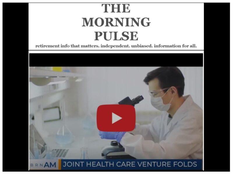 The Morning Pulse – Friday, January 8, 2021