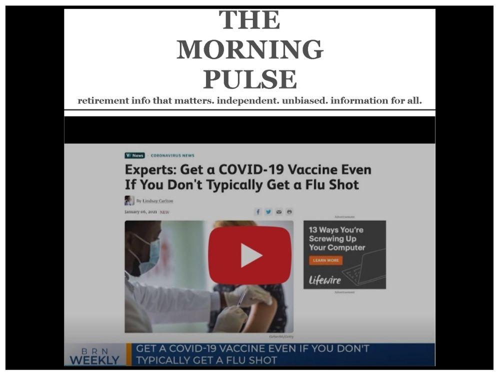 The Morning Pulse – Saturday, January 9, 2021