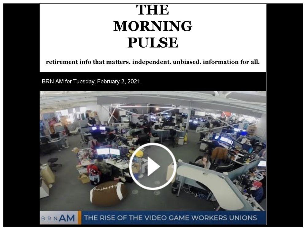 The Morning Pulse – Tuesday, February 2, 2021