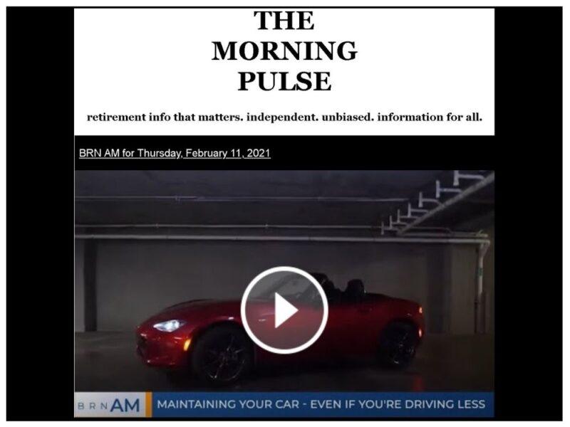 The Morning Pulse – Thursday, February 11, 2021