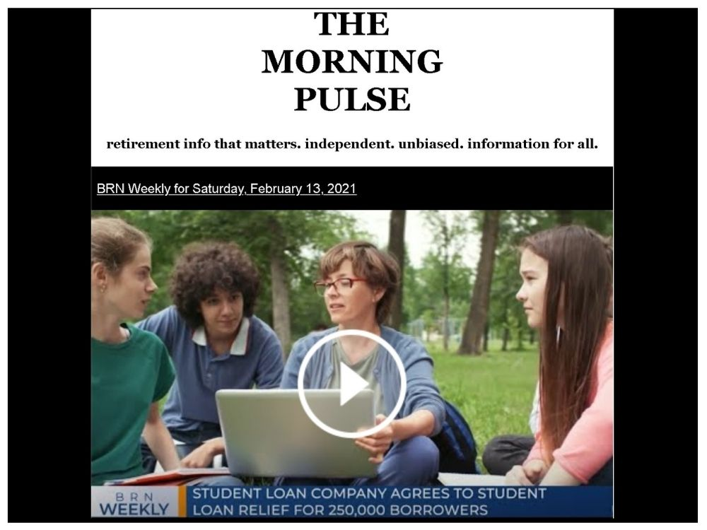 The Morning Pulse – Saturday, February 13, 2021