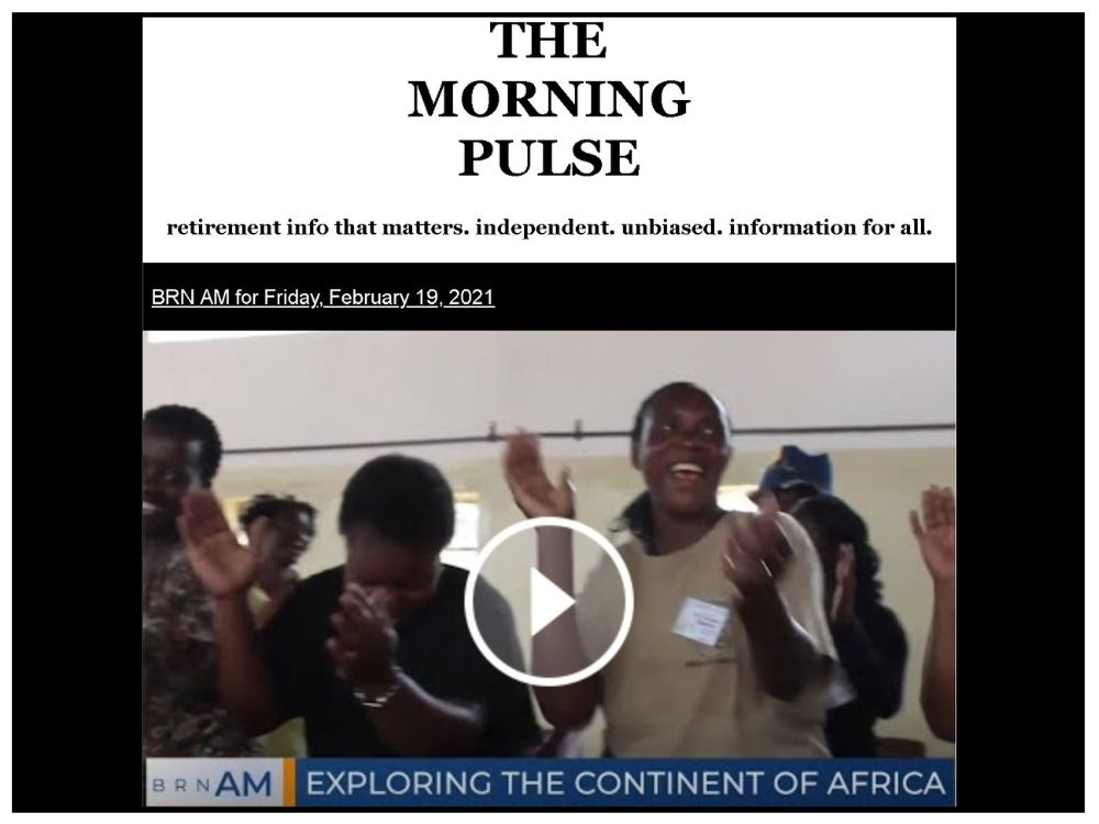 The Morning Pulse – Friday, February 19, 2021