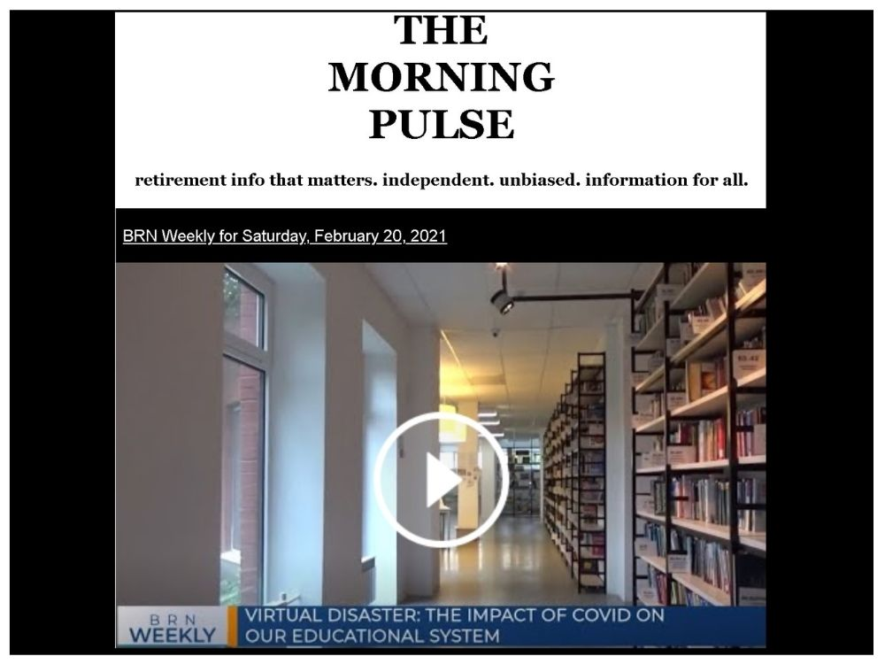 The Morning Pulse – Saturday, February 20, 2021