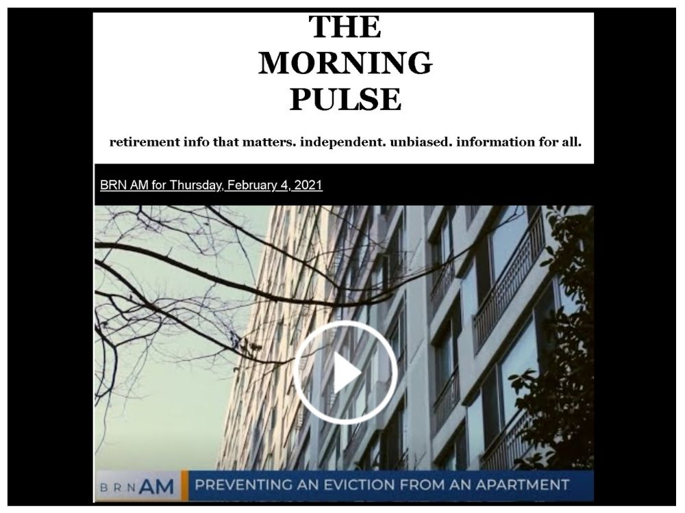 The Morning Pulse – Thursday, February 4, 2021