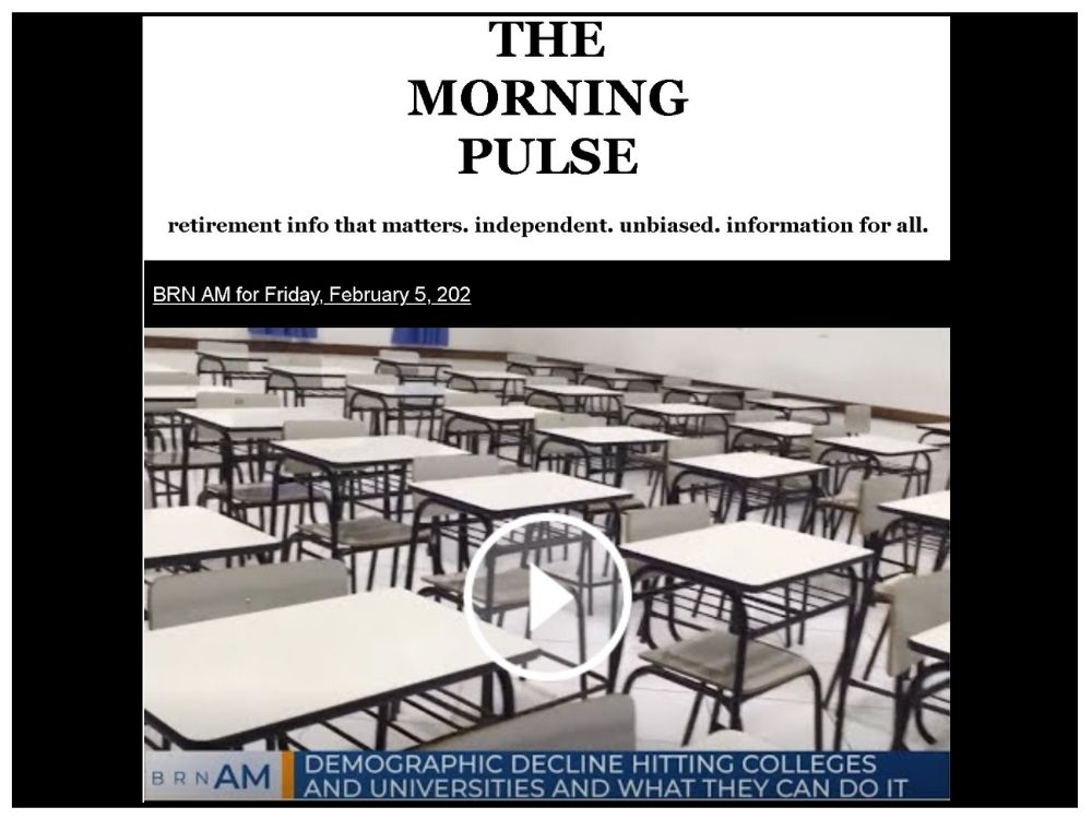 The Morning Pulse – Friday, February 5, 2021