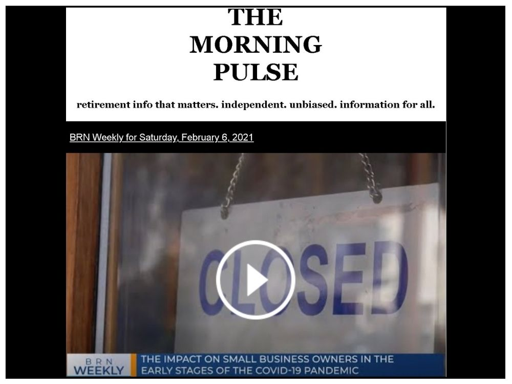 The Morning Pulse – Saturday, February 6, 2021
