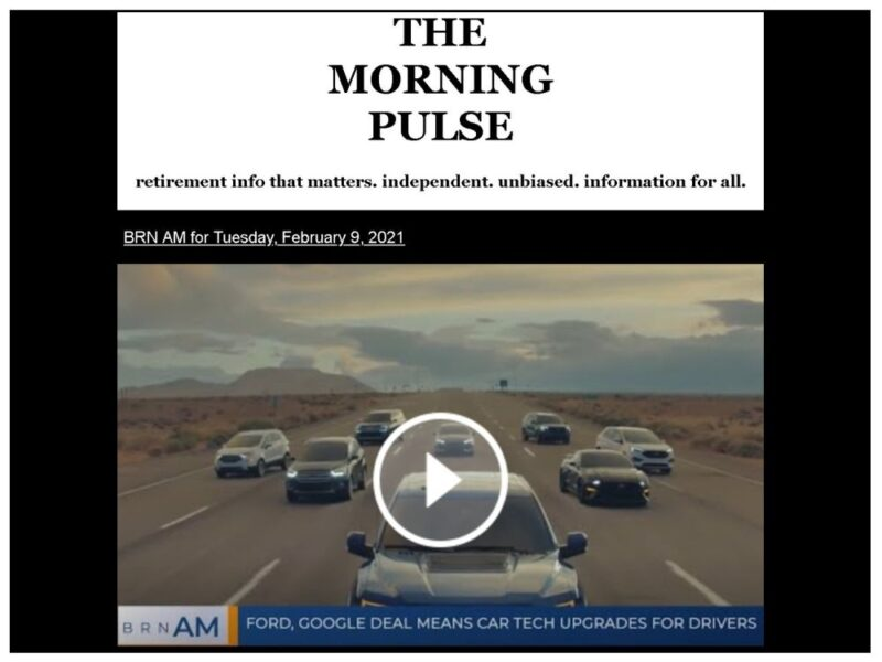 The Morning Pulse – Tuesday, February 9, 2021