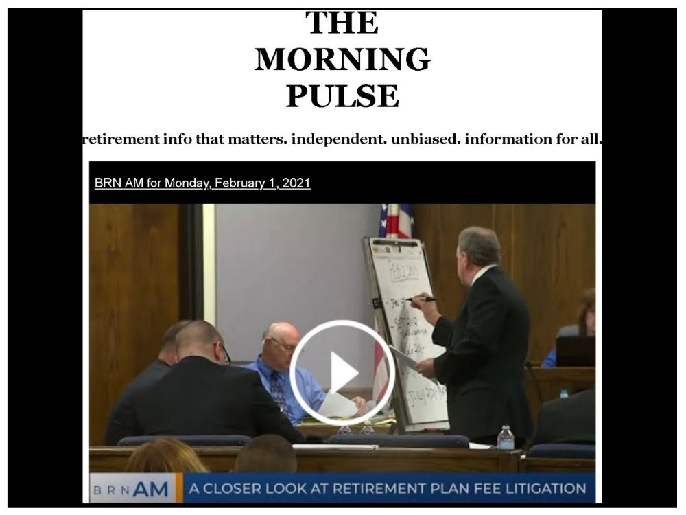 The Morning Pulse – Monday, February 1, 2021
